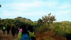 Start of hike.